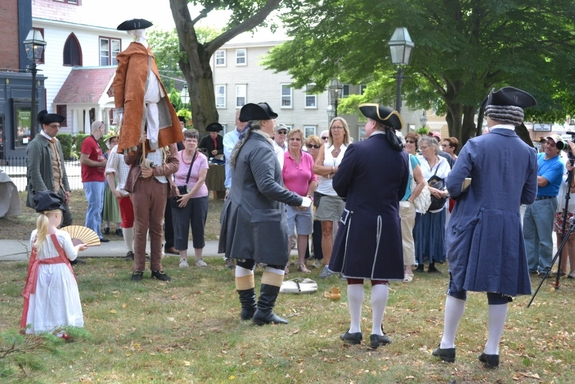 Newport Stamp Act Protest