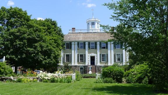 The Shirley-Eustis House in Roxbury