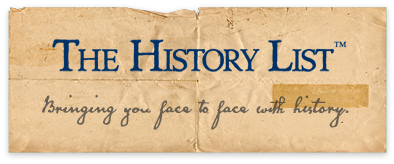 View the home page for The History List
