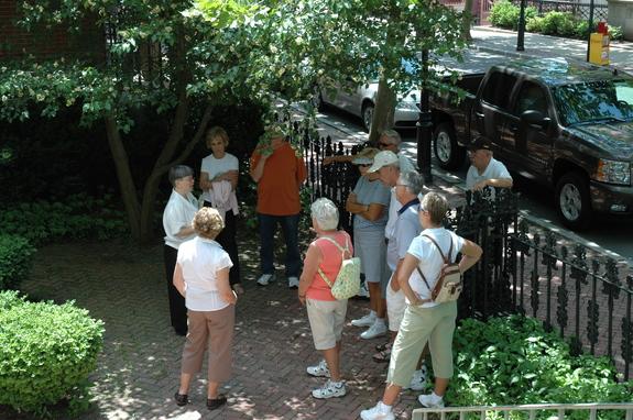Womens History Wednesdays Walking Tour Benefit Street Providence RI