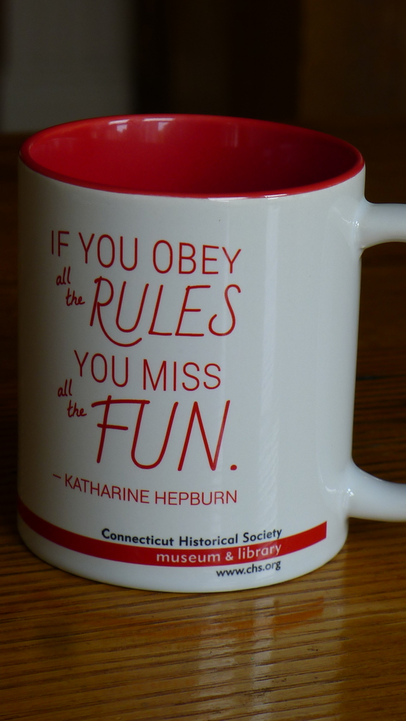 """If you obey all the rules, you miss all the fun."""