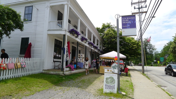 The Farmers Market at the E. N. Jenckes General Store in Douglas, Massachusetts