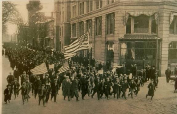 The Bread & Roses strike in 1912
