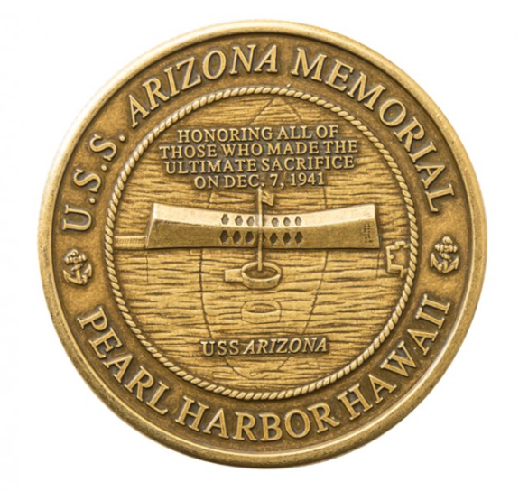 USS Arizona Memorial Commemorative Coin