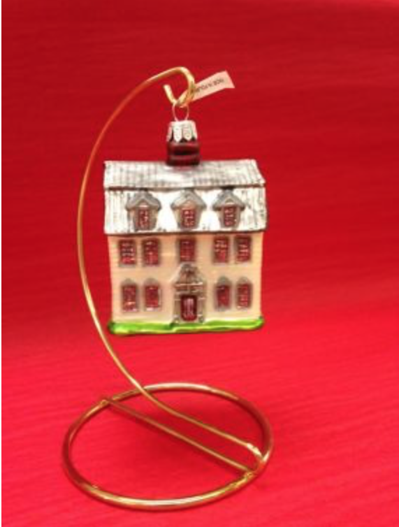 Dwight House Holiday Ornament from Historic Deerfield