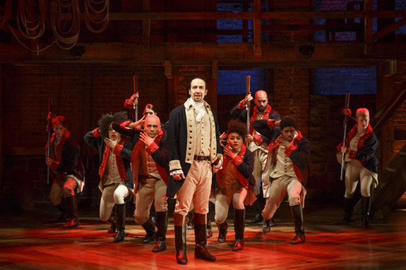 Hamilton, the musical, on the the History Gift List for 2015