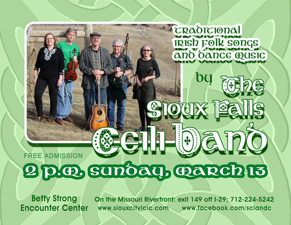 Live Irish folk music by The Sioux Falls Ceili Band | Sioux