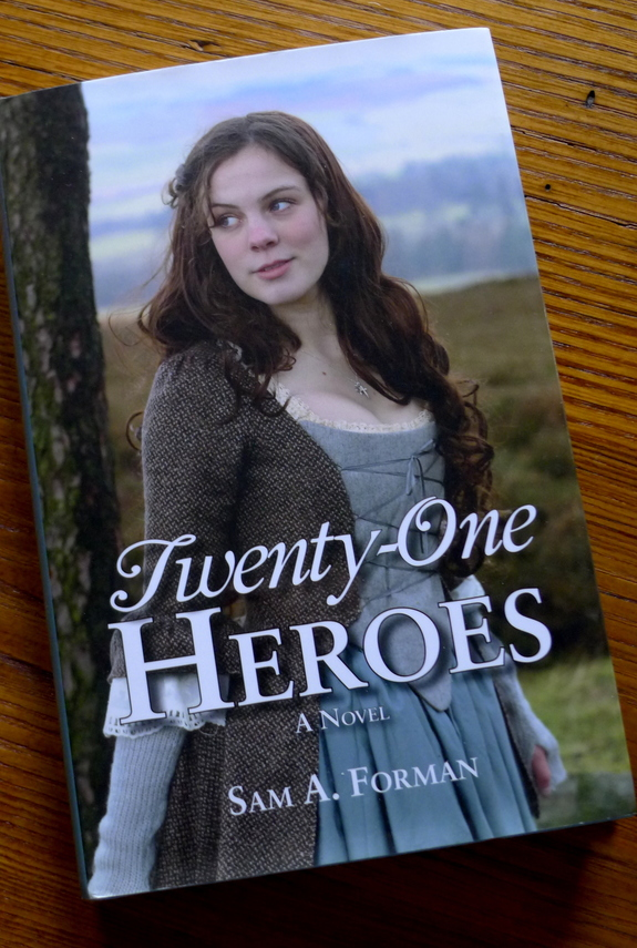 Twenty-One Heroes, a historical novel for young adults