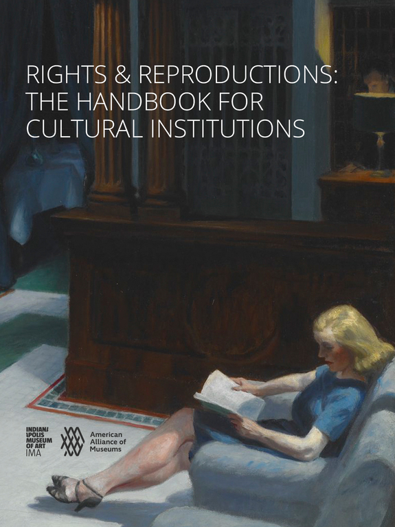 cover of Rights & Reproductions: The Handbook for Cultural Institutions
