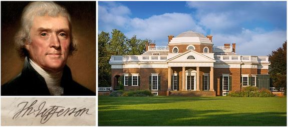 Thomas-Jefferson-Monticello-and-signature