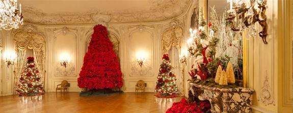 Newport Mansions at Christmas