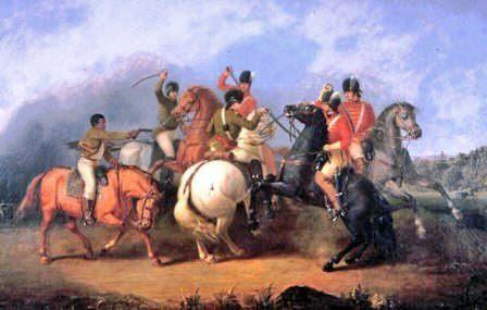 Battle of Cowpens-William Ranney,1845